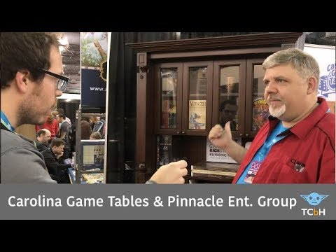 Carolina Game Tables & Pinnacle Entertainment Group - Live @ PAX Unplugged