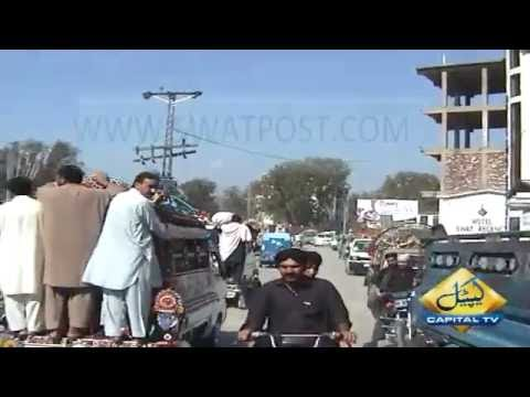 Mingora bypass Trafic Problame PKG By\ Abdullah Sherin Capital Tv Swat.