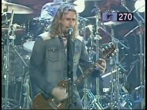 Nickelback How You Remind Me Live In Japan