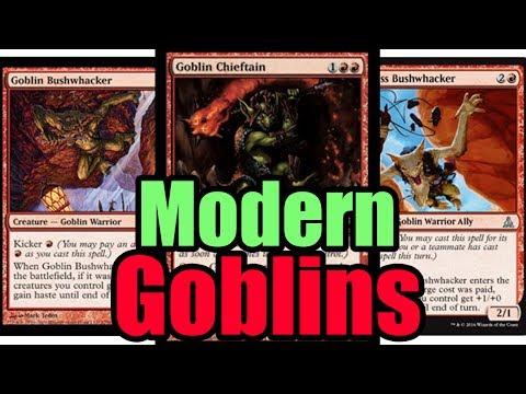 MTG Budget Modern Goblins vs Affinity