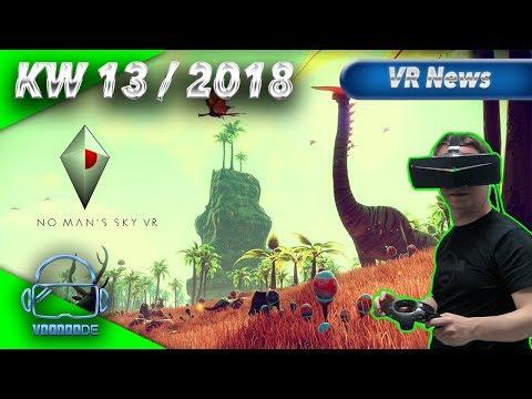 Virtual Reality News (Wochenrückblick KW13/18) [VR Games][VR Hardware][Vive][Rift][Pimax][WMR][PSVR]