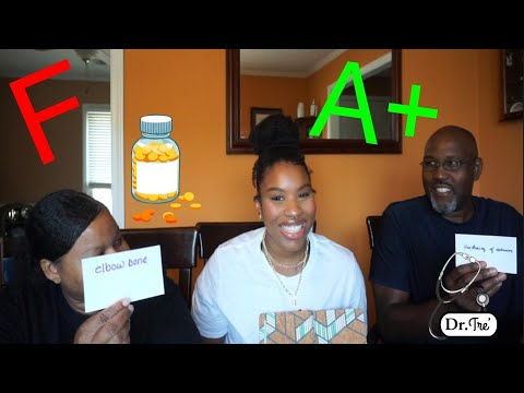 PARENTS GO TO MED SCHOOL | My Mom & Dad Guess Medical Terms