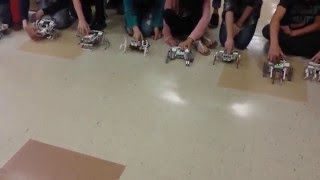 Lego Mindstorms EV3 Move without wheels LaBrae Middle School 7th grade