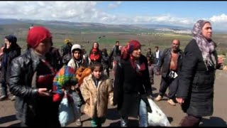 Syrians flee Afrin as Turkish-led forces press operations