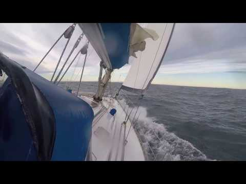 Just some offshore sailing 20.01.17 , first 42 Winter sailing Norway South East