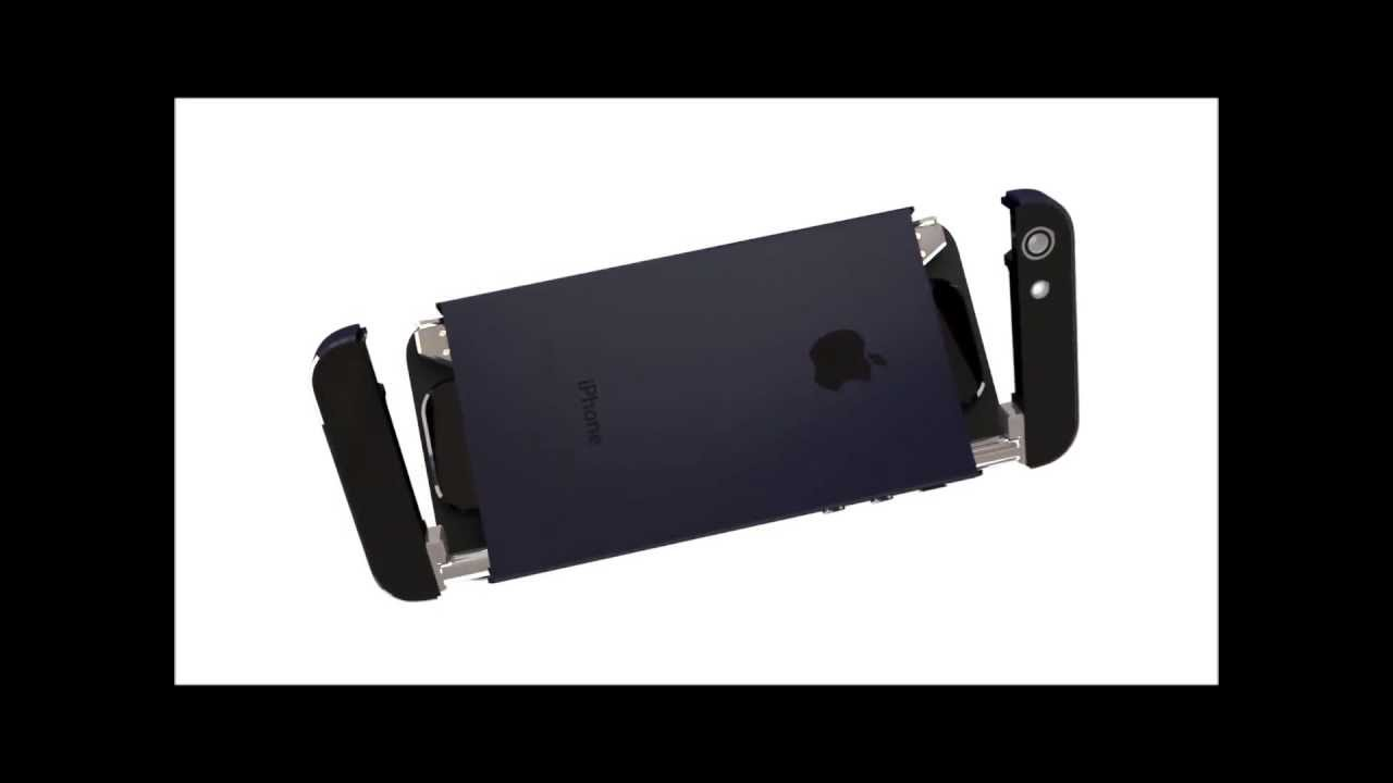 New iphone 6 with display and keyboard projector youtube for Iphone 6 projector