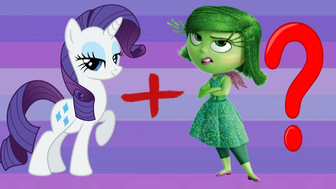 My little pony as emotions from inside out youtube for Little pony watches