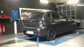 * Reprogrammation Moteur * Seat Ibiza tdi 130cv @ 177cv dyno Digiservices Paris