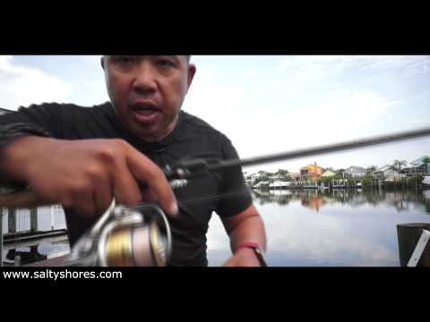 How to Cast a spinning rod accurately and safely