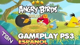 Angry Birds Trilogy GAMEPLAY ESPAÑOL PS3