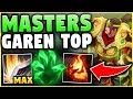 STOP PLAYING GAREN WRONG! THIS GUY GOT TO MASTERS PLAYING GAREN LIKE THIS! - League of Legends