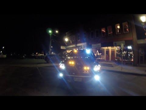 Amber Strobe/Work Lights Install