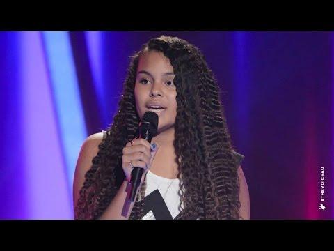 Mi-Kaisha Sings Brokenhearted Girl | The Voice Kids Australia 2014