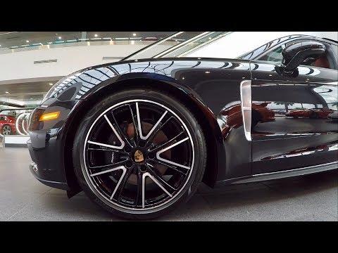 2018 Jet Black Porsche Panamera 4 Executive 330 hp @ Porsche West Broward