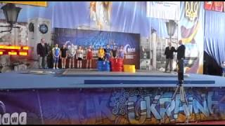 Чемпіонат України Славутич 2017,важка атлетика