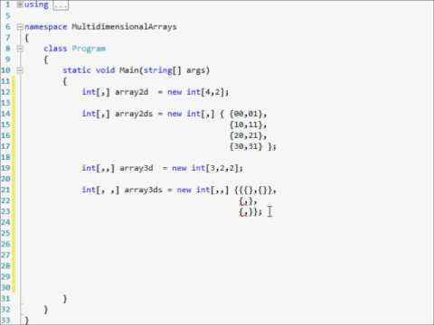 how to use arrays c