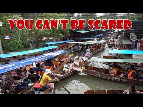 Damnoen Saduak Extreme Floating Market Ratchaburi Thailand