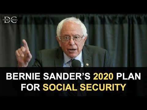 Bernie Sander's Plan for Social Security