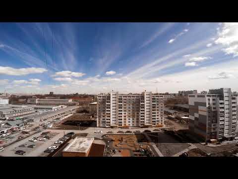 GoPro Hero 4 - Timelapse (Novosibirsk)