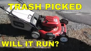 How To Restore a Junk Lawn Mower For Free.