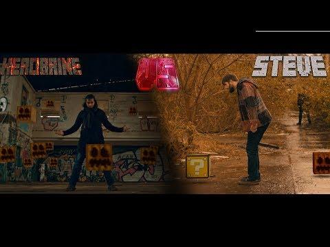 Minecraft in real life Steve vs Herobrine (Live action short)