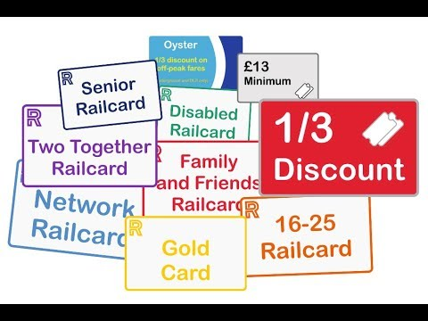 Railcards Explained