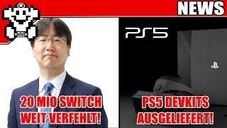 20 Mio Switch weit verfehlt, Prognose gesenkt! / PS5 Devkits werden ausgeliefert! - NerdNews 377