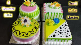 Top 4 Amazing Cake Decorating Tutorial | Pineapple Cake | Sunil Cake Master | Fancy Cake