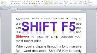 MS WORD COOL TRICKS 1000
