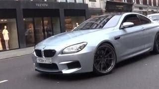 BMW с московскими номерами оскандалился на весь Лондон