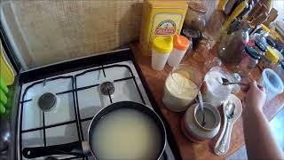 манная каша на воде без молока с медом и сливочным маслицем. Рецепт на сотку