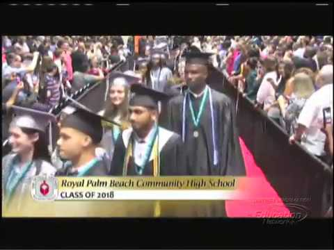 Royal Palm Beach Community High School 2018 Graduation