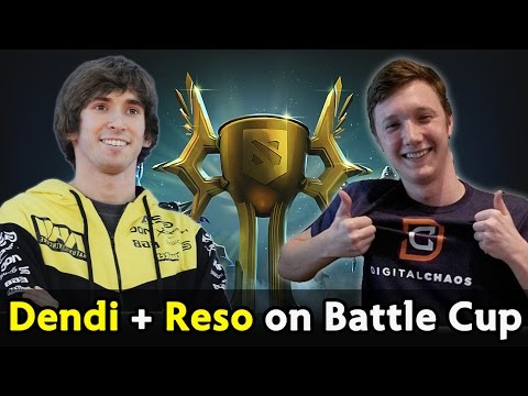 Dendi and Resolution on Battle Cup