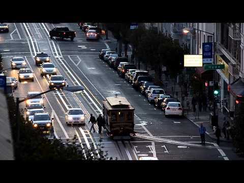舊金山旅行 ∣ The California Street Cable Car Line [San Francisco 2013]