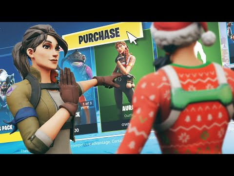 I Asked Strangers To BUY Me My FIRST Skin On Fortnite... (I Got FREE SKINS!)