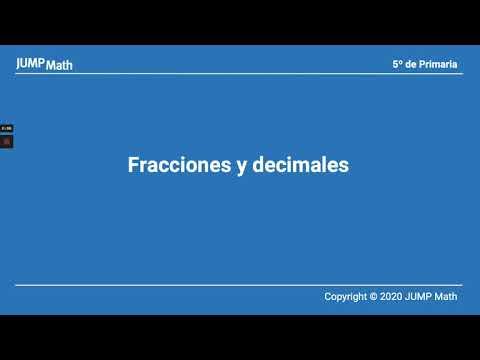 5. Unidad 6. Fracciones y decimales