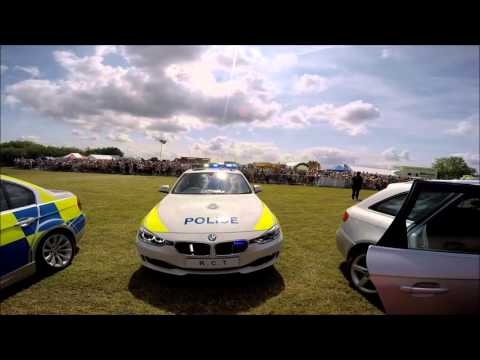 Rescue Day 2015 North Yorkshire Police Road Crime Team Pursuits