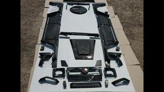Карбоновый обвес Brabus WideStar Mercedes G-Class W463
