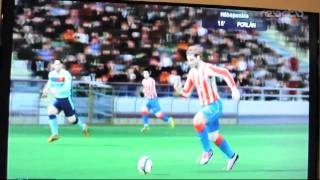 Pro Evolution Soccer 2011 (PES Wii) gameplay gamescom