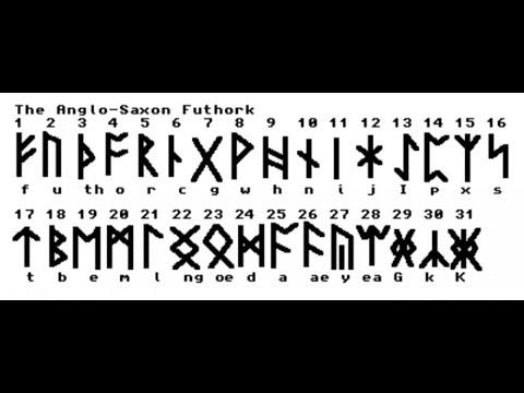 Anglo Saxon Runes Youtube