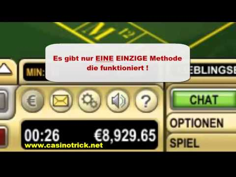 Video Roulette strategie rot schwarz verdoppeln