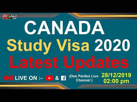 Canada Study Visa 2020