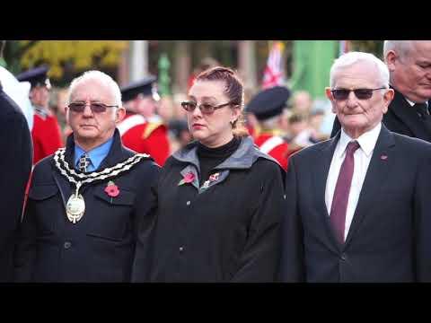 Llanelli Remembrance Day 2018