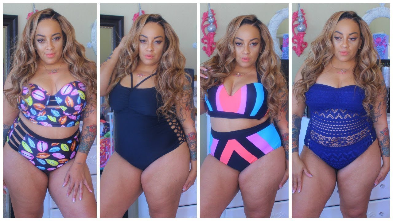 909cfbd404cc5 SUMMER 2018 | THICK GIRL SLIMMING DOWN ❤ | Swimsuit Try On Haul Zaful  Review-Plus Size Model