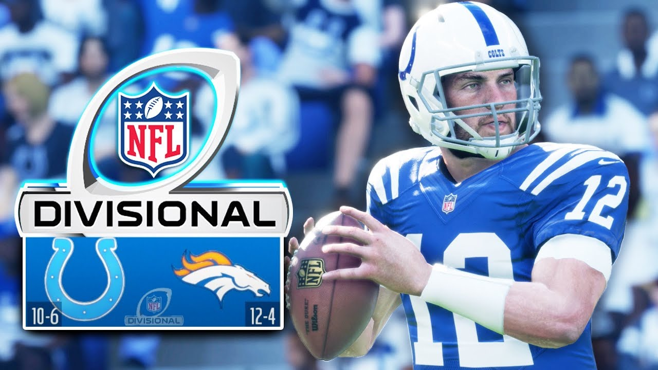 DIVISIONAL ROUND! Madden 18 Colts Connected Franchise Ep. 34 (S2)