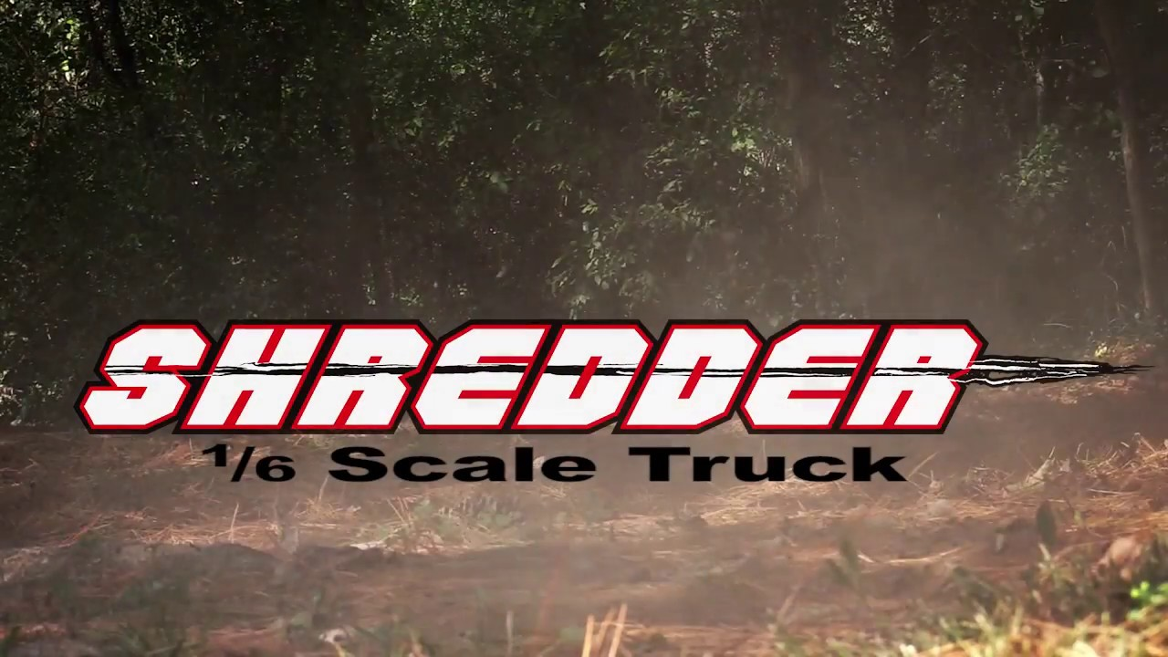 SHREDDER 1/6 RC truck from Redcat Racing - Teaser