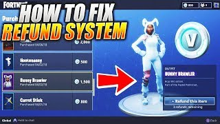 "NEW How To Fix ""REFUND SKINS"" and Sell Your Items in Fortnite Battle Royale How To Get VBucks #USKRC"