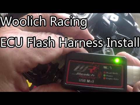 Writing to an ECU in the Woolich Racing Tuned (WRT) software by