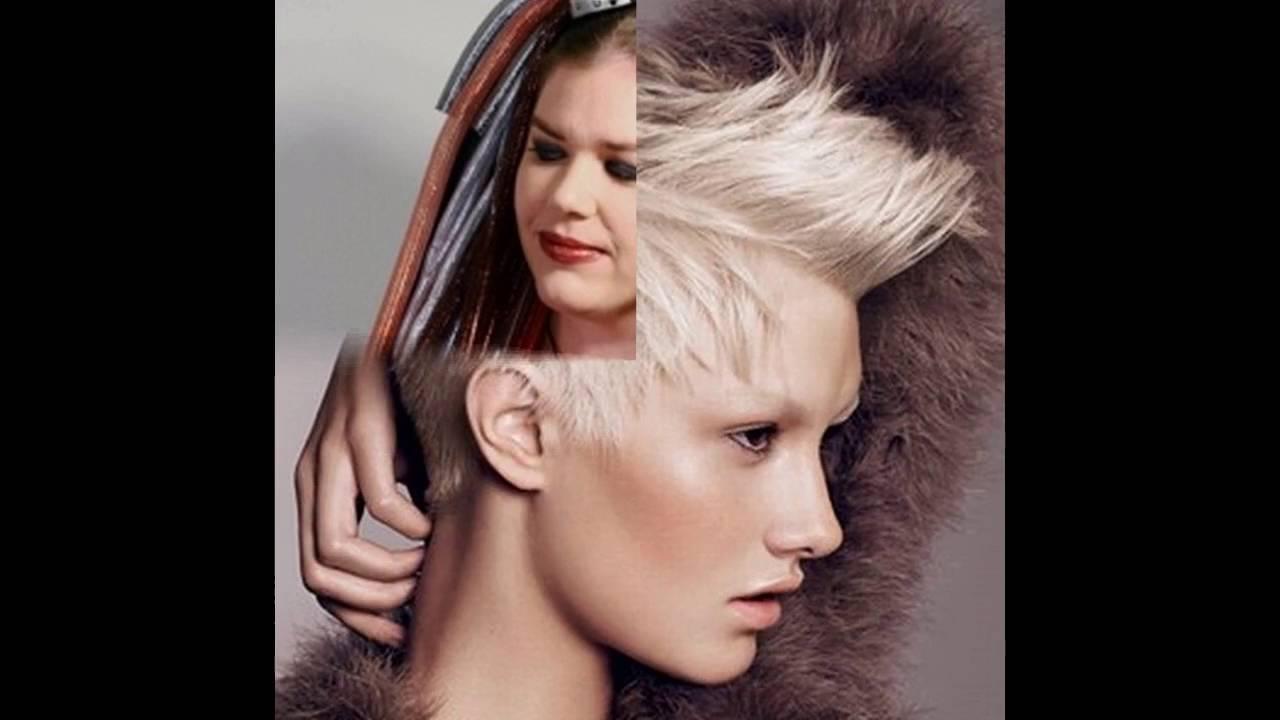 Haarfarben Und Frisurentrends Punk Frisuren Youtube