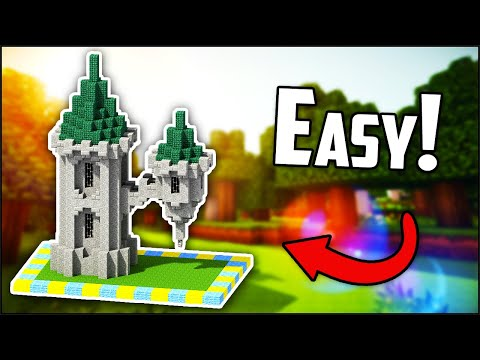 How To Build A Wizard Tower In Minecraft 1.14 (EASY!)